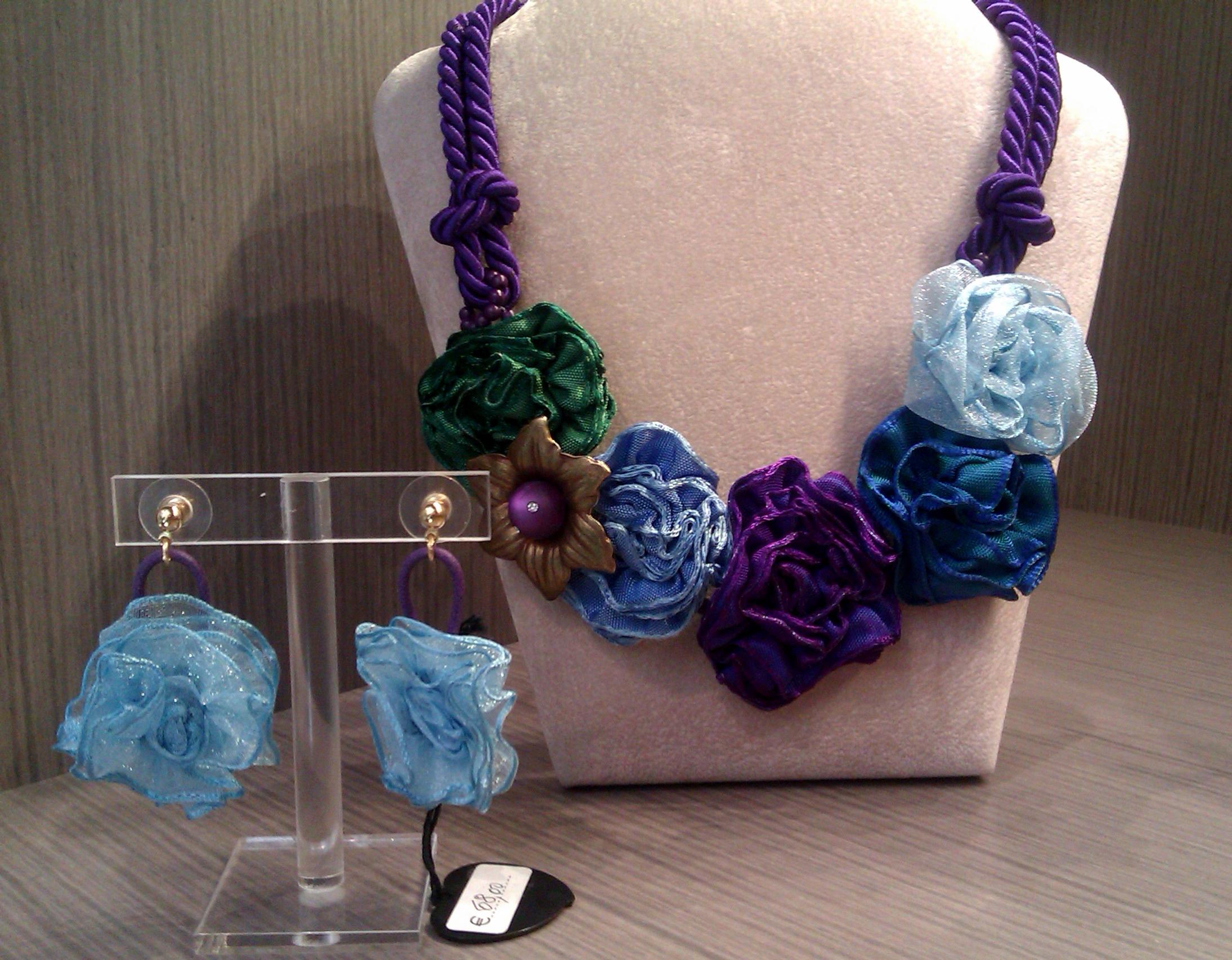 """Famoso Collezione P/E 2012 """"merveilleuses fleurs colorées""""Cillabijoux  IQ22"""