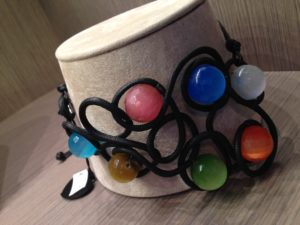 multicolor beads collier de chain