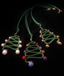 Ciondoli Albero di Natale in passamaneria