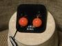 Orecchini sfera liscia -  10) Arancione