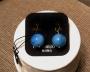Orecchini sfera liscia -  25) Azzurro Mare