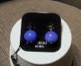Orecchini sfera liscia - 16) Blu Royal