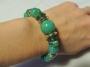 Braccialetto rigido fantasia -  22) Verde Smeraldo