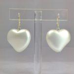 """Orecchini """"cuore di perla"""""""