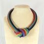 Collier nodo -  50) Multicolor