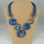 "Collier ""Precious Weavings"" -  Azzurro"