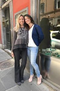 Raffy e Chiara, una delle nostre clienti top!!!