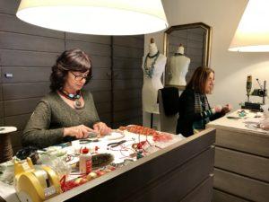 Sandra e Cilla al lavoro sulle nuove collezioni... stay tuned!!!