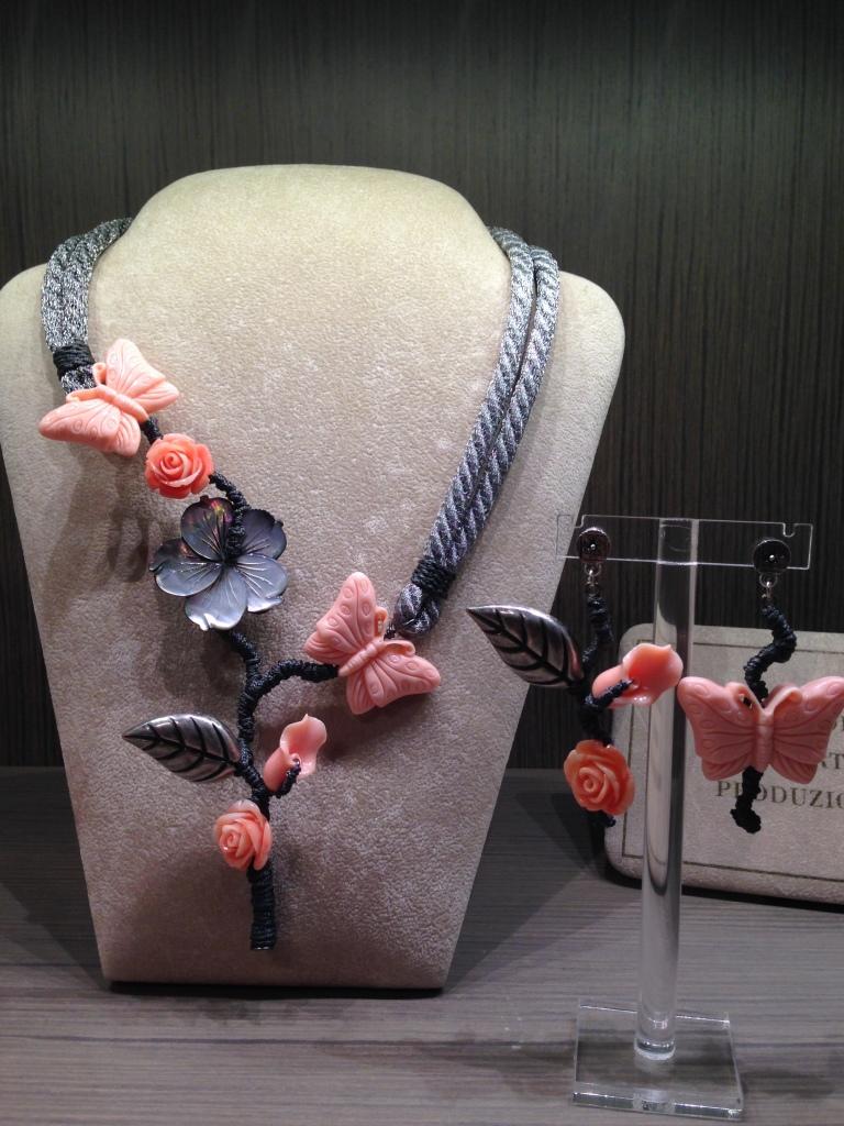 """Capsule Collection """"Farfalle"""" - Collezione Cillabijoux """"Emozioni in Rosa"""""""