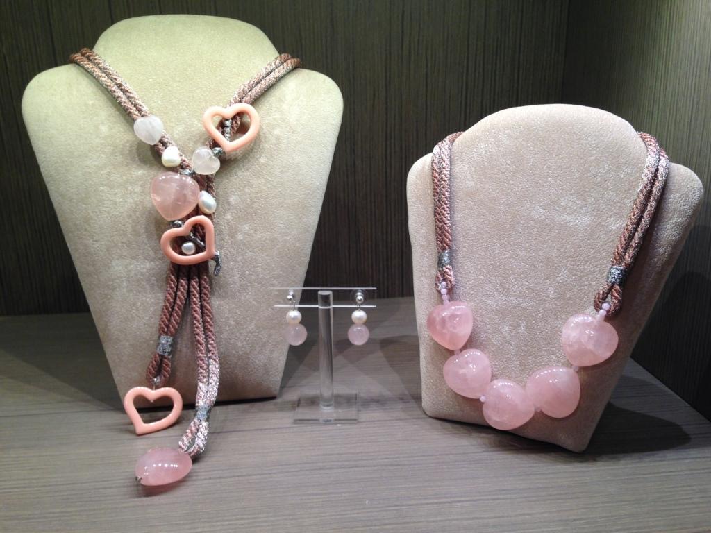 """Capsule Collection """"Cuori di Quarzo"""" - Collezione Cillabijoux """"Emozioni in Rosa"""""""