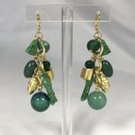 """Orecchini """"Jingling Bounches"""" - 3 maglie  22)Verde Smeraldo"""