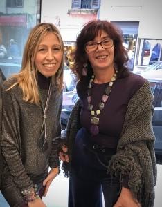"""Raffy e Sandra indossano i nuovi modelli delle Capsule """"Unconventional Grey"""", vieni a provarli in negozio!"""