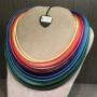 Collana di filato a gradazione  50) Multicolor