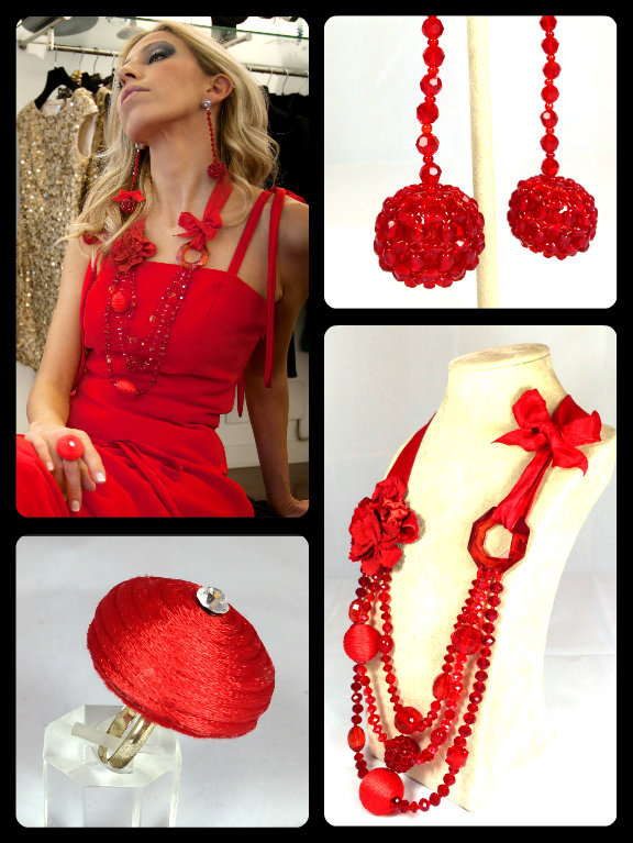 """""""Romantically Red"""" Haute Couture Collection"""