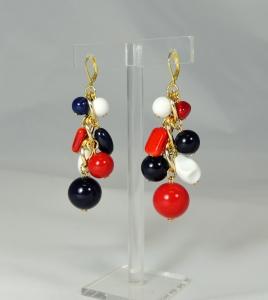 jingling bunches - 3 maglie bianco-rosso-blu