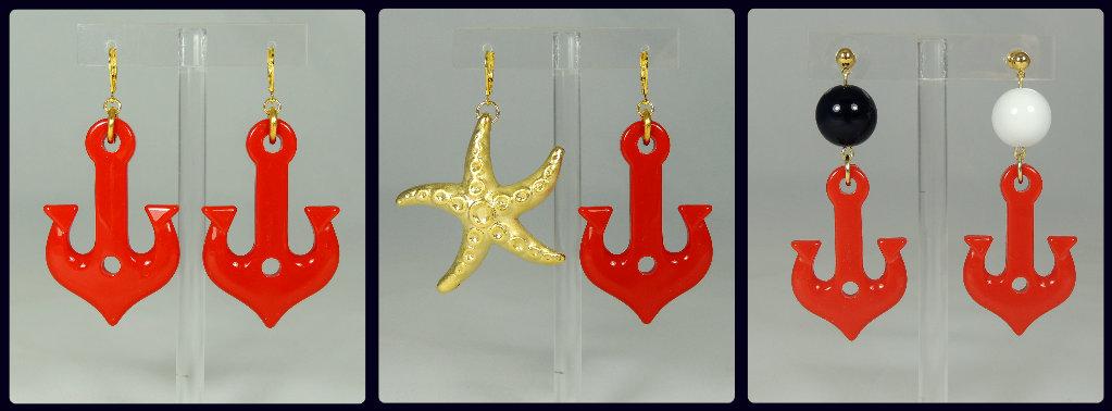 "Orecchini ""Navy Chic"" Collection"
