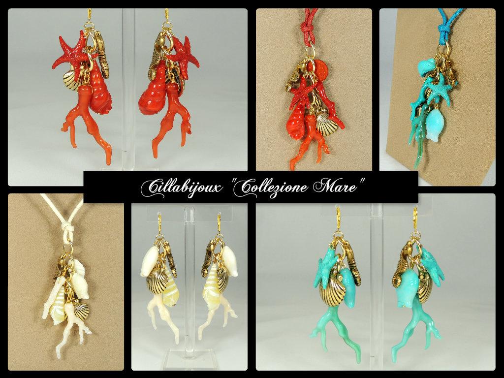"""Cillabijoux - Collezione mare """"Jingling Bunches"""" - mare Caspule Collection"""